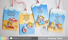 mama elephant | design blog: Summer Splash with Keeway