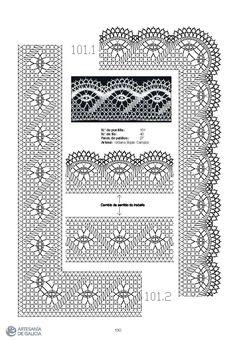 Albums archivés Bobbin Lace Patterns, Doily Patterns, Hand Embroidery Patterns, Paper Embroidery, Dress Patterns, Hairpin Lace Crochet, Crochet Motif, Crochet Coaster, Embroidery
