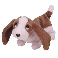 Ty Beanie Babies - Tracker the Basset Hound Dog Kids Toy Store 59d106687f08