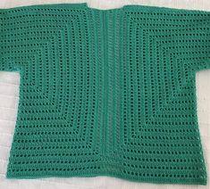 Crochet Collar, Crochet Cardigan, Baby Knitting Patterns, Crochet Patterns, Free Crochet, Crochet Hats, Crochet Jacket Pattern, Crochet Shawls And Wraps, Sweater Making