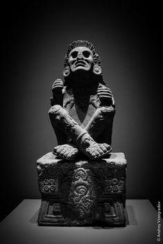 XOCHIPILLI - Aztec God of Art, Games, Beauty, Dance, Flowers and Song. / Museo Nacional de Antropologia – Mexico City