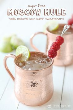 Sugar-Free Moscow Mule (with natural low-carb sweeteners)