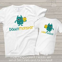 daddymonster and babymonster dad and baby matching by zoeysattic