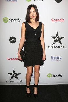 Maria Andersson featuring #ReschiaShoes tangled pump (www.reschia.com) at Grammis STHLM #GRAMMIS #wearingreschiashoes