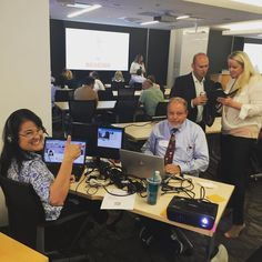 Live from our #IoTGA #Hackathon Social Media Command Center, it's our very own @reinalareina!