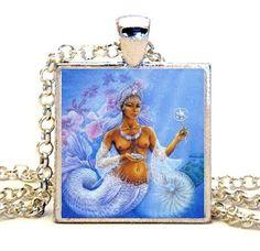 YEMAYA SANTERIA ORISHA  Photo Pendant by ApothecaryCollection, $9.99