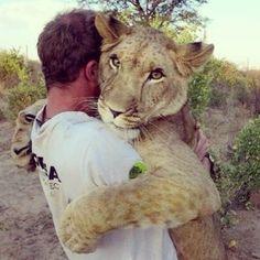 Kevin Richardson...the lion whisperer