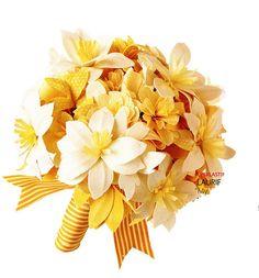 paper flowers - love!