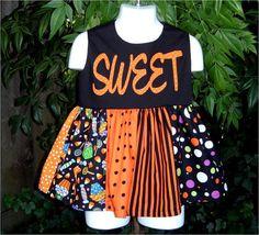 """""""Sweet"""" Girls Halloween Dress"""