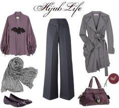 Hijab Life: Hijab Life Work Outfit