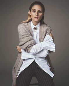 The Olivia Palermo Winter Capsule Wardrobe Estilo Olivia Palermo, Olivia Palermo Lookbook, Olivia Palermo Banana Republic, Banana Republic Looks, Banana Republic Outfits, Work Fashion, Star Fashion, Mode Outfits, Holiday Outfits