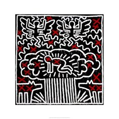 Keith Haring – The Political Line @ Musée d'Art Moderne (Paris) Jean Michel Basquiat, Jm Basquiat, Roy Lichtenstein, Bad Painting, Jasper Johns, Arte Pop, Jackson Pollock, Robert Rauschenberg, Pittsburgh