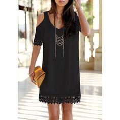 Edgy Little Black Dress