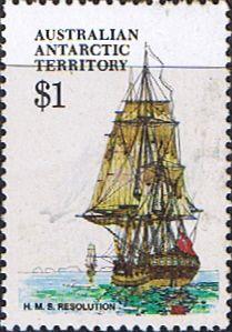 Australian Antarctic Territory 1979 Ships SG 52 Resolution Fine Mint Scott L52 Other Australian Antarctic Territory Stamps HERE