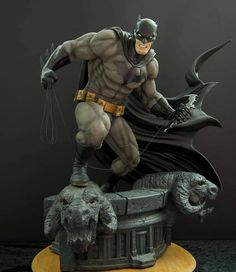 Batman Hush, Superman Art, Batman Cosplay, Superhero Villains, Fantasy Fiction, Custom Action Figures, Batman Arkham, Drawing Poses, Hush Hush