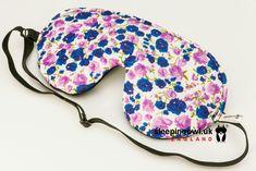 sleepingowl.uk Lilac and blue mask for sleep