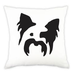 Yorkshire Terrier Decorative Pillow by FetchProductDesign on Etsy, $60.00