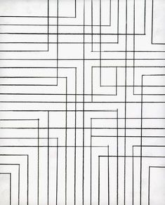 This would make great quilting on my modern quilt. (Drawings and Installations by Peter K. Koch):