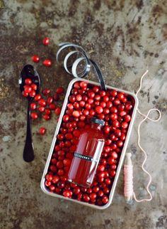 Cranberry Vanilla Syrup