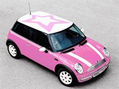 Mini Cooper Rose.