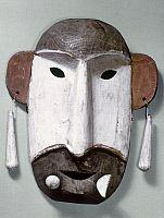 Eskimo dance mask, Alaska