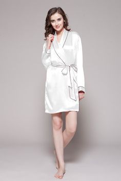 48f6eaa03b 75 Best Ladies Natural Silk Robes images