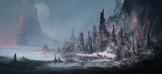 Mike Luard explained how he creates concept art with the help of 2d and 3d tools.
