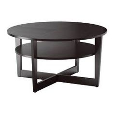 VEJMON Coffee table - black-brown - IKEA  $149