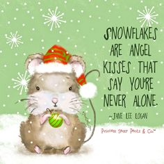 Snowflakes are angel kisses that say you're never alone. Christmas Quotes, Christmas Pictures, Christmas Art, Christmas And New Year, Christmas Stuff, Christmas Ideas, Christmas Blessings, Magical Christmas, Christmas 2017