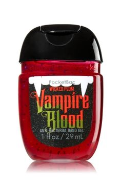 Vampire Blood PocketBac Sanitizing Hand Gel - Soap/Sanitizer - Bath & Body Works