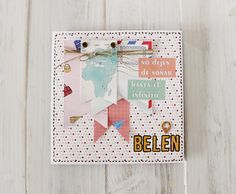 postal viajera diseñada por @lamardescrap con la colección #trotamundos de @escrap Scrapbook Cards, Scrapbooking, Greeting Cards Handmade, My Works, Mini Albums, Posters, Inspiration, French, Manualidades