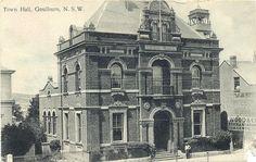 Town Hall, Goulburn ca.1908 by STRL Local Studies, via Flickr- E C Manfred