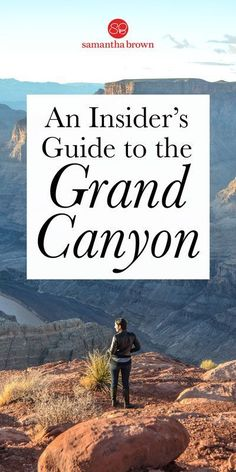 An insider's guide to the Grand Canyon - Samantha Brown's Places to Love 6 million people visit the Grand Canyon annually, making it one of the nation's most popular National Parks. Here's how to make your trip one of a kind. Grand Canyon Arizona, Grand Canyon South Rim, Grand Canyon Winter, Flagstaff Arizona, Arizona Road Trip, Arizona Travel, Usa Roadtrip, Travel Usa, Grand Canyon Vacation