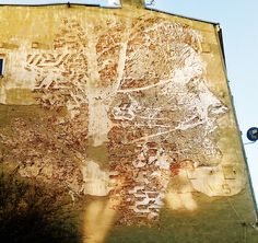 Mural TreeFace ŁÓDŹ Poland, Street Art, Abstract, Artwork, Painting, Summary, Work Of Art, Auguste Rodin Artwork, Painting Art