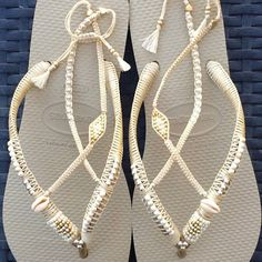 Handmade Sandals Flip Flops and more... by TribesBySaraK on Etsy
