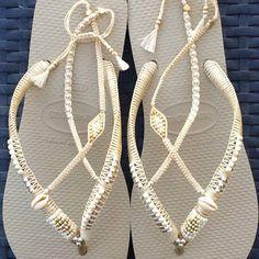 Handmade Sandals Flip Flops and more... by TribesBySaraK on Etsy