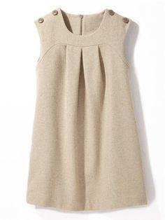 ƙỈɗʂ / Robe en lainage Cyrillus Kid's dress, but I would wear it in a second! Little Girl Outfits, Little Girl Fashion, Little Girl Dresses, Kids Outfits, Baby Girl Dresses, Baby Dress, Cute Dresses, Fashion Kids, Kids Mode