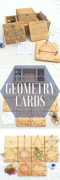 Put this on the list of school supply must haves! I'm a big fan of hands-on learning and these geometry boards are just that. Imagine the discovery and patterns your children will engage in with these great math materials. #ad #homeschoolmath #homeschool
