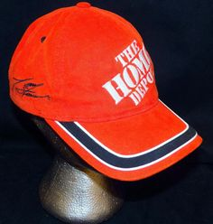 28e17e7d353 Tony Stewart - 20 - Joe Gibbs Racing - Home DEPOT - NASCAR - Ball Cap Hat