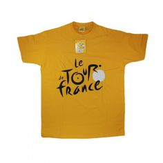 T-shirt tour de France jaune