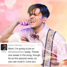 Oh god cx that's Dallon James Weekes for y'all c;