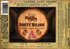 Avery Barrel Aged #16: Ross's's Melange Barrel Aged Wild Ale