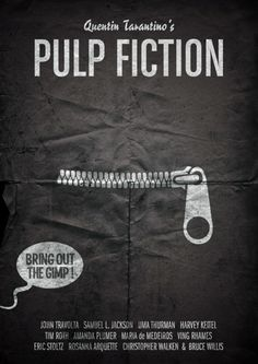 Minimal Movie Posters - bring out the gimp