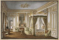 The Empress's bedroom at St. Cloud Palace