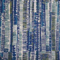 retro mid century curtain fabric | ... David Whitehead Valerie Searle Rouilli fabric curtain vintage retro