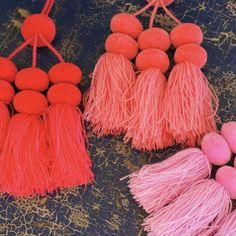 Small Wool Pom Poms, Set of 3 Doubles – Zinnia Folk Arts Dark Teal, Teal Green, Mexican Textiles, Mexico Style, Mexican Designs, Mexican Folk Art, Zinnias, Wool, Pom Poms