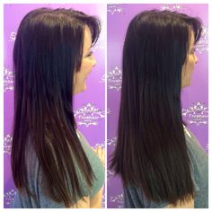 Look at the difference only 6 @hotheadshairextensions can make!  Fuller, thicker hair in just a few minutes. Stylist- Kylee Richardson. #freshairsalon #freshairstylist #hotheads #hairextensions #hair #salon #fayettevillear @kylee_ruth