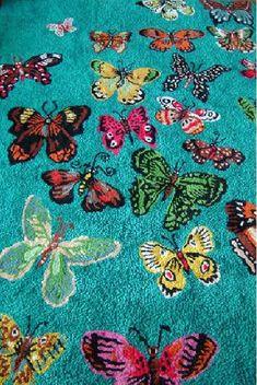 Nathalie Lete _   papillons Rug