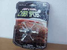 CYBER SPIDER NEW BEST GADGET TOY JAPAN 2012 GIVE A LOT OF JOY & FUN PERFECT GIFT: MiruGadget.com