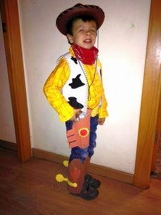 CAPRICHOS hechos a mano: CARNAVAL: DISFRAZ WOODY Y JESSIE Cumple Toy Story, Festa Toy Story, Cowboy Birthday Party, 5th Birthday, Woody Y Jessie, Popeye Costume, Anniversaire Cow-boy, My Children, First Birthdays